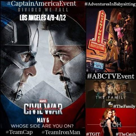 I'm Heading to LA for the Captain America Press Event #CaptainAmericaEvent #TeamIronMan