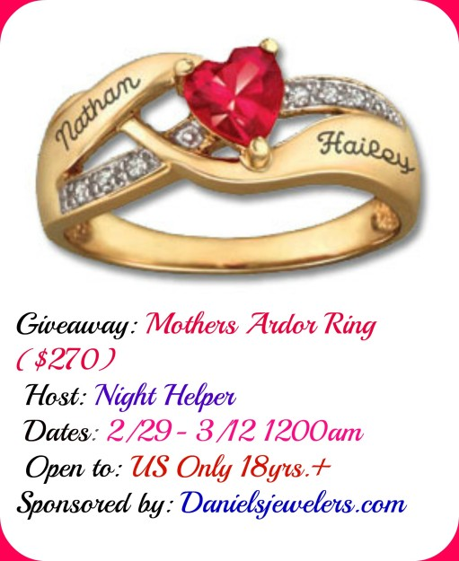 Mother's Day Ring Giveaway