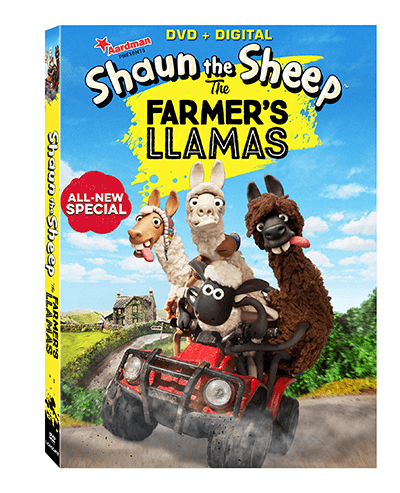 New Shaun the Sheep DVD