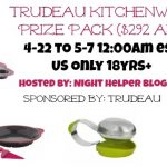 Trudeau Kitchen Prize Pack Giveaway