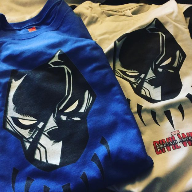 Black Panther Tshirts