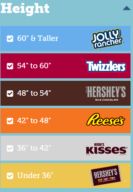 Hershey height