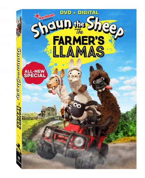 Shaun the Sheep: The Farmer's Llamas Coming to DVD