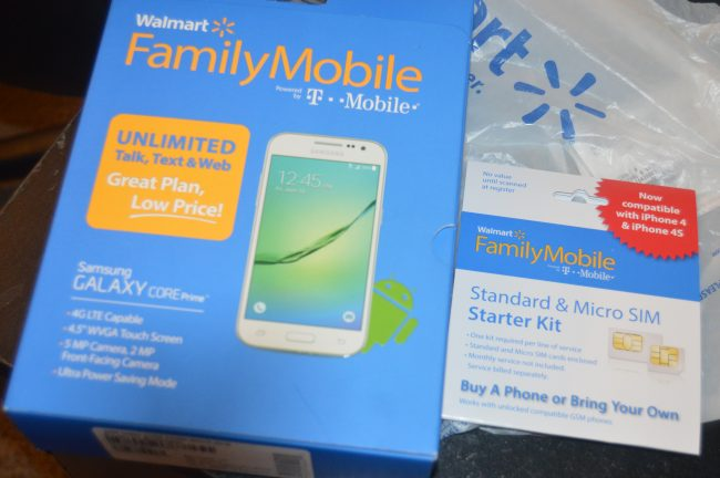 Walmart Family Mobile Plus Samsung Galaxy Core Prime (2)