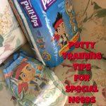 Tips for Potty Training Special Needs Children #PottyTrainingTips #DGDigitalCoupons