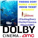 FINDING DORY Movie Ticket Giveaway from #DolbyCinema at AMC