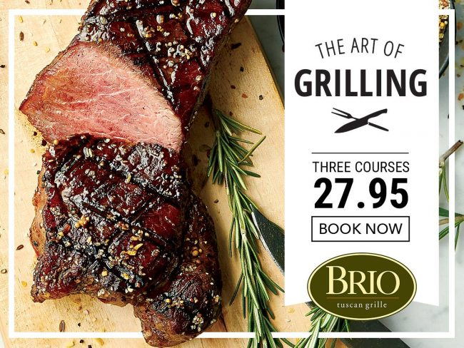 BRIO Tuscan Grille Art of Grilling Promotion Review