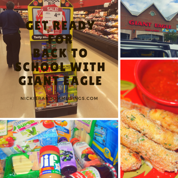 Get Ready for Back to School with Giant Eagle #ad #BackToSchoolSimple