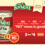 Chef Boyardee on Rollback at Walmart #ad #SaveOnChef