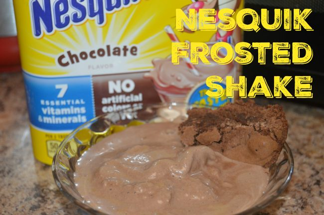 Nesquik Chocolate Frosted Shake