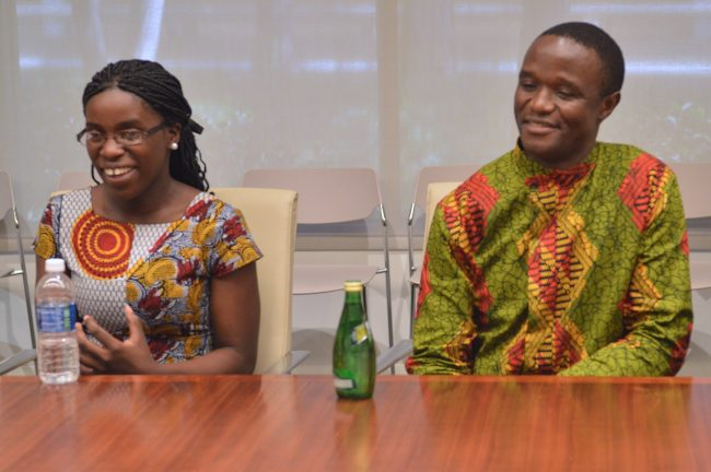 Phiona Mutesi and Robert Katende Talks Chess, Uganda, and Mentorship #QueenOfKatweEvent
