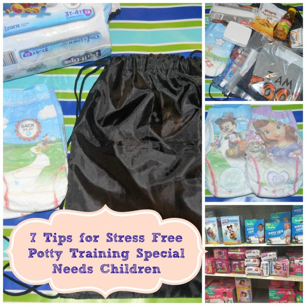 7 Tips for Stress-Free Potty Training Special Needs Children #ad #PottyTrainTogether