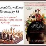 Queen of Katwe Event Chess Board Giveaway