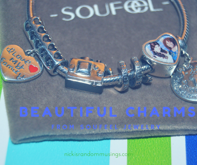 Beautiful Charms from Soufeel Jewelry