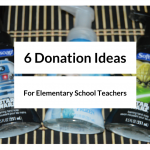 Six Donation Ideas for Teachers