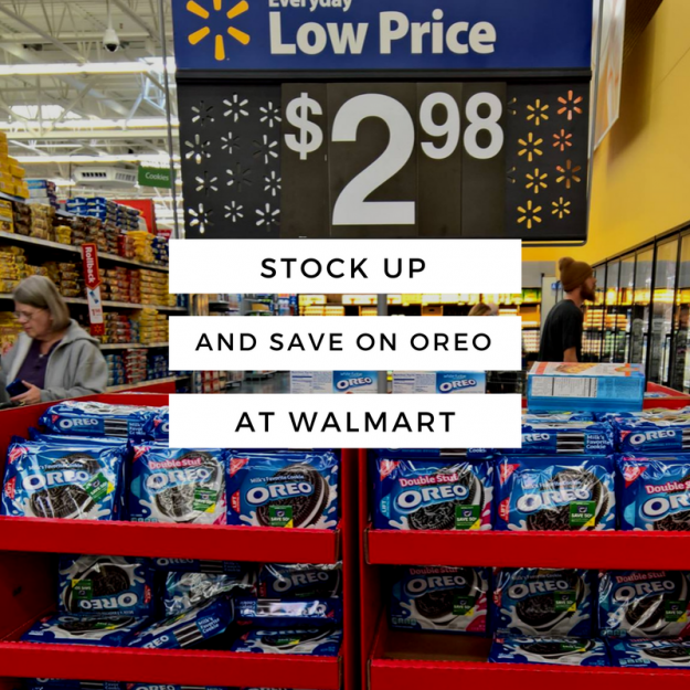 Stock Up on OREO at Walmart