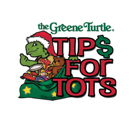 "The Greene Turtle Sports Bar & Grille® to Collect ""Tips for Tots"" for Children in Need on December 7"