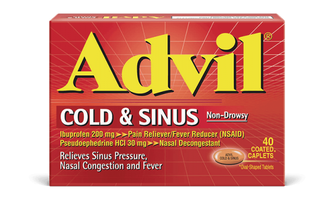 Be Ready for Cold Season with Advil® Cold & Sinus