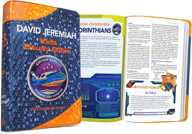 NKJV Airship Genesis Kids Study Bible Review
