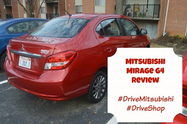 Mitsubishi Mirage G4 Review – Perfect for College Students and Young Professionals