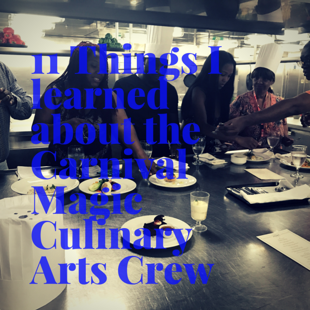 11 Things I Learned about the Carnival Magic Culinary Arts Crew #CruisingCarnival #CarnivalMagic