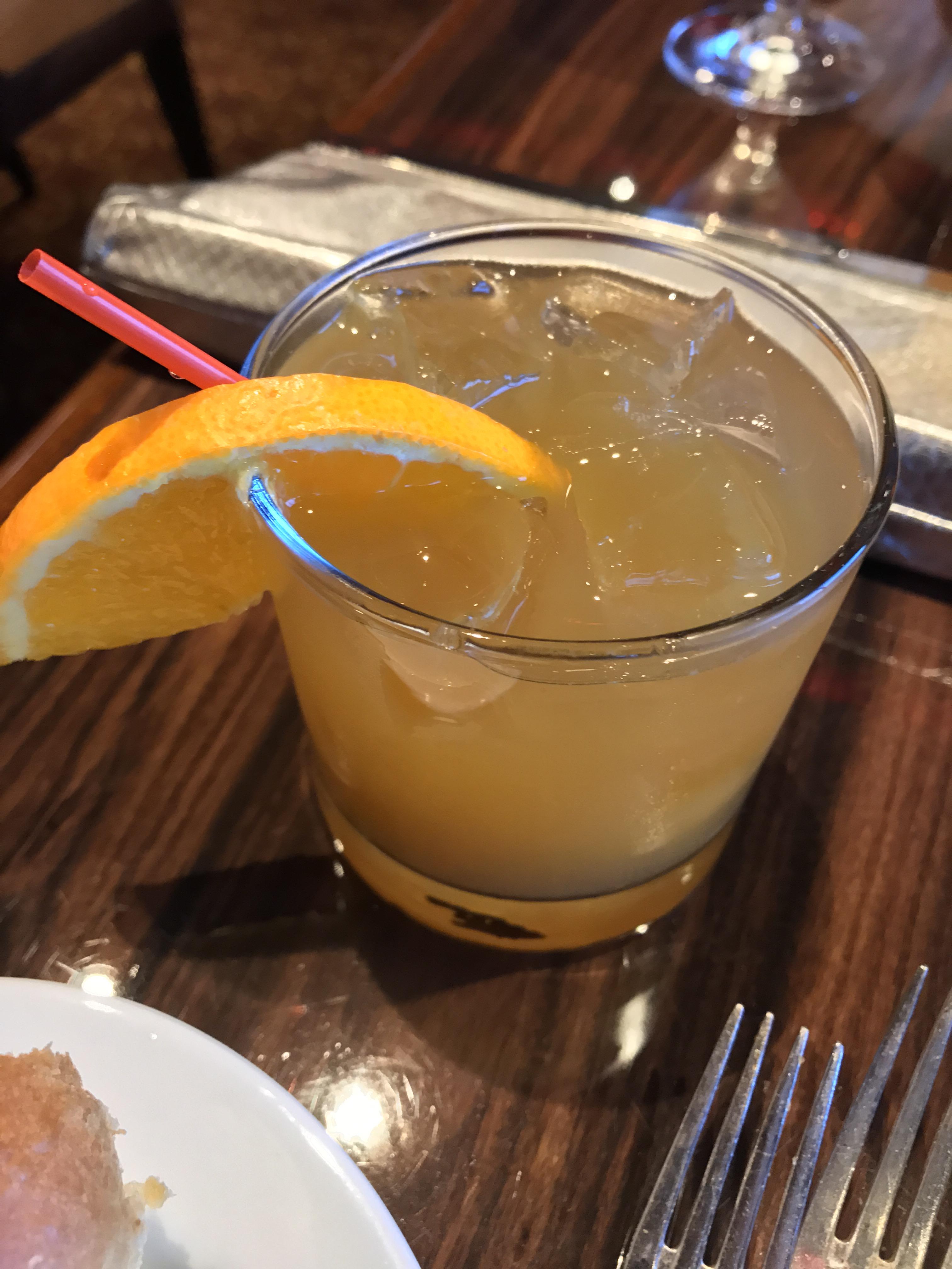 Caribbean Sunrise Cocktail