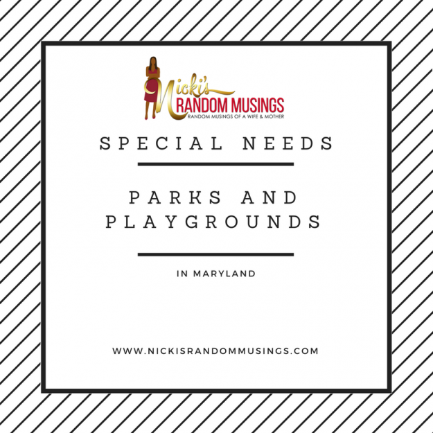 Special Needs Parks and Playgrounds in Maryland