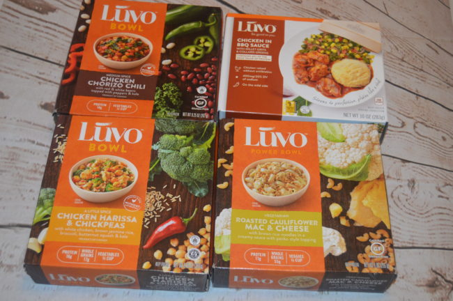 Luvo Frozen Meals Review