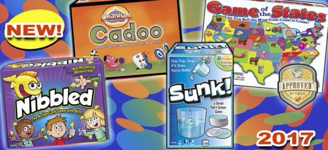 New Games from Winning Moves for Family Game Night