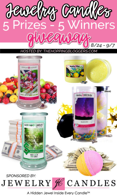 Jewelry Candles Giveaway