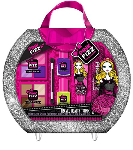 Holiday Gift Idea – Pink Fizz All In One Travel Beauty Trunk