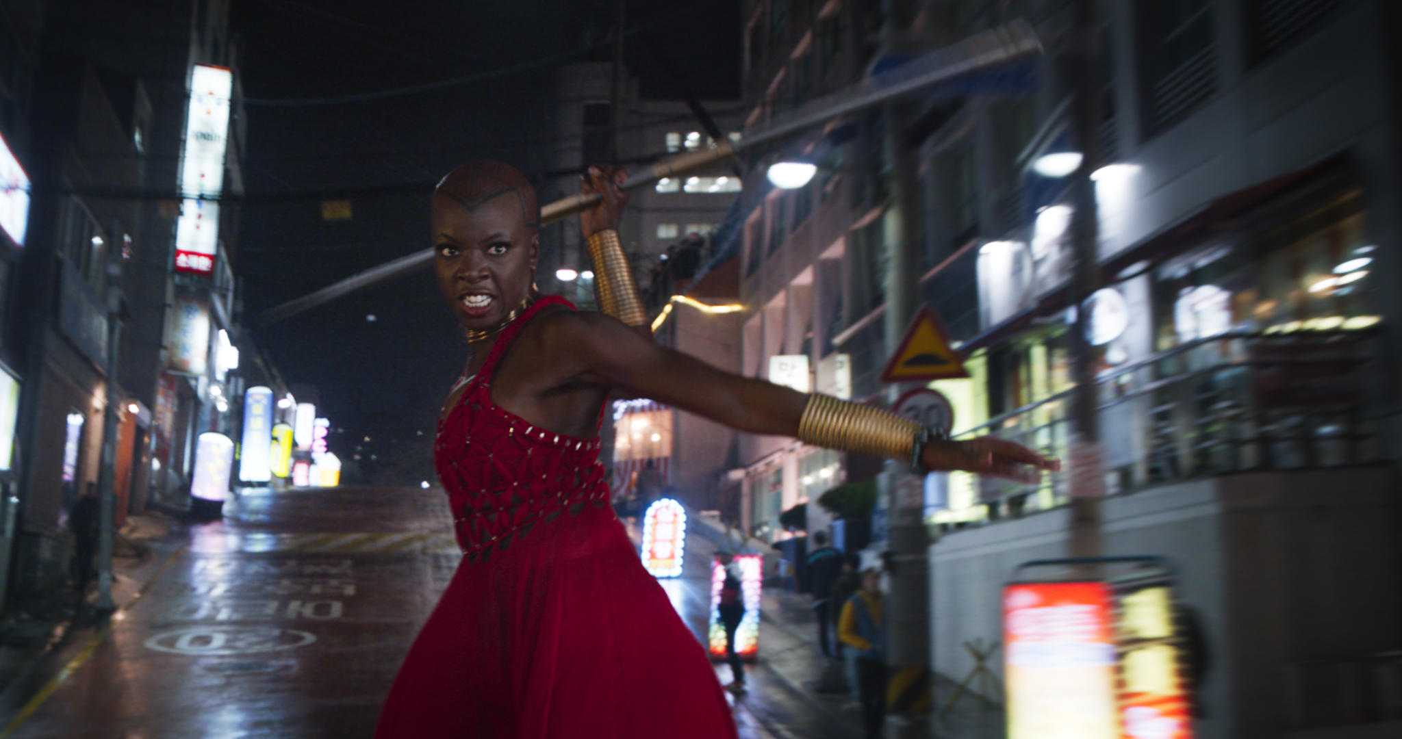 black panther interview with lupita nyong�o and danai gurira